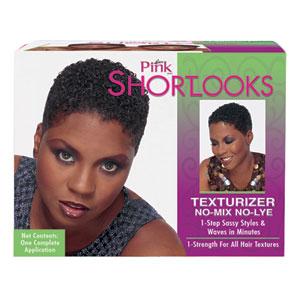 Pink Short Looks Texturizer Kit
