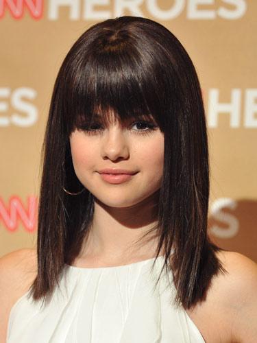 Strange Selena Gomez Hairstyles Pictures Of Selena Gomez39S Hair Real Short Hairstyles For Black Women Fulllsitofus