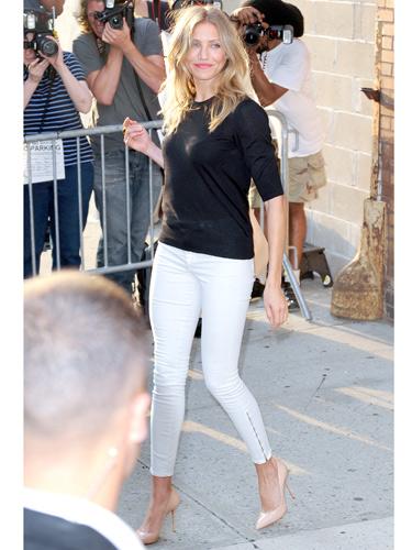 Celebrity White Jeans - White Denim for Women - Real Beauty