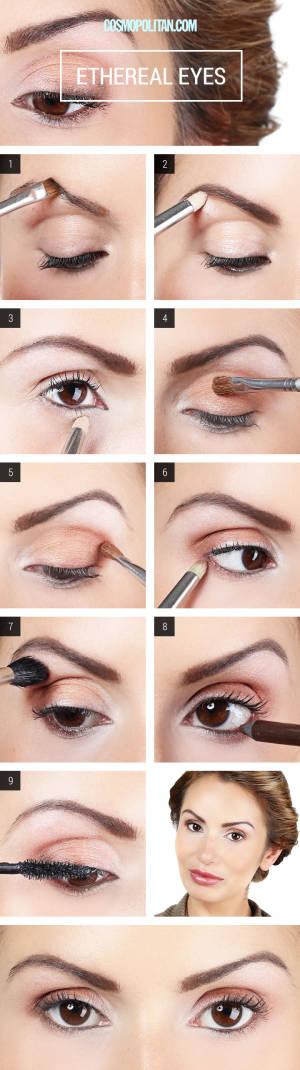 Как сделать макияж для карих глаз на ютубе