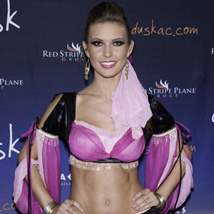 audrina patridge in a genie costume