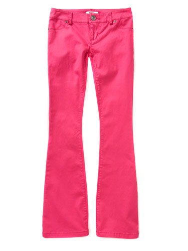 Bongo Pink Bootcut Jeans KMart - Cheap Colored Jeans for Women ...