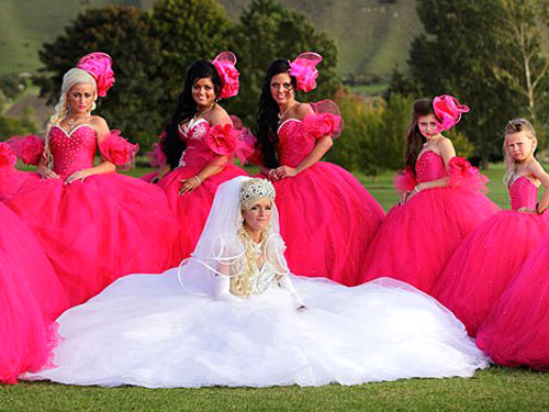 Ugly bridesmaid dresses worst crazy bridesmaid dresses real beauty junglespirit Gallery
