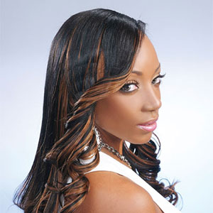 African american highlights how to add highlights to african adding highlight tracks to african american hair pmusecretfo Image collections