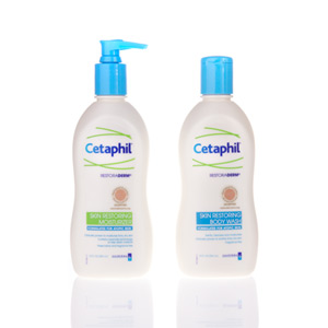 cetaphil restoraderm skin restoring moisturizer and body wash for eczema relief