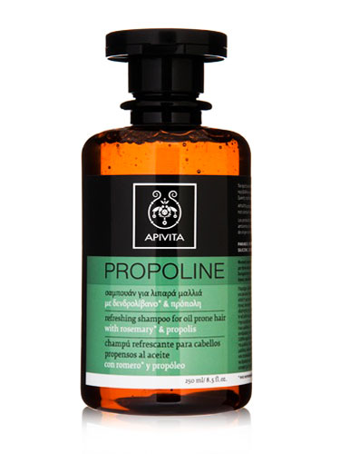 apivita propoline refreshing shampoo for oily hair