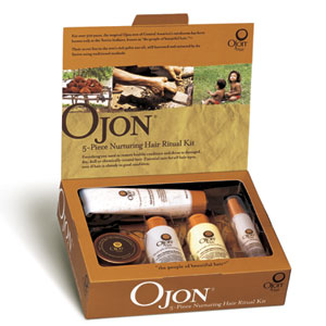 ojon nurturing hair ritual set